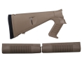 Product detail of Mesa Tactical Urbino Tactical Stock with Limbsaver Recoil Pad and Forend Benelli M4 12 Gauge Synthetic Coyote Tan