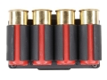 Product detail of TacStar SideSaddle Shotshell Ammunition Carrier 12 Gauge 4-Round Benelli Nova Black