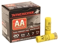 "Product detail of Winchester AA TrAAcker Ammunition 20 Gauge 2-3/4"" 7/8 oz #7-1/2 Shot Black Wad"