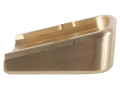 Product detail of Taylor Freelance Extended Magazine Base Pad Glock 20, 21, 21SF, 29 +0 Brass