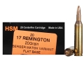 Thumbnail Image: Product detail of HSM Varmint Gold Ammunition 17 Remington 20 Grain...