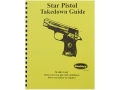 "Product detail of Radocy Takedown Guide ""Star Pistol"""