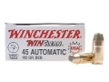 Product detail of Winchester USA WinClean Ammunition 45 ACP 185 Grain Brass Enclosed Base