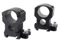 "Product detail of Burris 1"" Xtreme Tactical QD Weaver-Style Rings Matte"