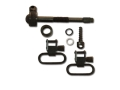 "Product detail of GrovTec Sling Swivel Studs with 1"" Locking Swivels Set Remington 742 BDL Steel Black"
