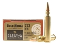 Thumbnail Image: Product detail of Federal Premium Gold Medal Ammunition 223 Remingt...