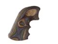 Product detail of Hogue Fancy Hardwood Grips with Finger Grooves Ruger Super Blackhawk