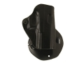 Product detail of DeSantis Top Cop Paddle Holster Right Hand Glock 19, 23 Leather Black