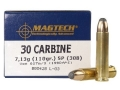 Product detail of Magtech Sport Ammunition 30 Carbine 110 Grain Soft Point