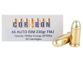 Product detail of Cor-Bon Performance Match Ammunition 45 Auto Rim (Not ACP) 230 Grain ...