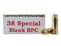 Product detail of Ten-X Ammunition 38 Special Pistol Blank BPC Box of 50