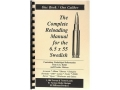 "Product detail of Loadbooks USA ""6.5x55mm Swedish Mauser"" Reloading Manual"