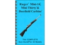 "Product detail of Gun Guides Takedown Guide ""Complete Guide: Ruger Mini-14, Mini-30 & Deerfield Carbine"" Book"
