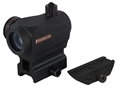 Product detail of TRUGLO Triton Red Dot Sight 5 MOA Red, Green and Blue Dot with Integral High and Low Weaver-Style Mount Matte