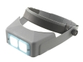 "Product detail of Donegan Optical OptiVISOR Magnifying Headband Visor with 1-1/2X at 20"" Lens Plate"