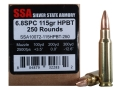 Product detail of Silver State Armory Ammunition 6.8mm Remington SPC 115 Grain Hollow P...