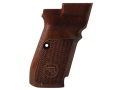 Thumbnail Image: Product detail of CZ Grips CZ 83 Checkered Walnut
