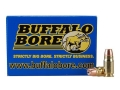 Product detail of Buffalo Bore Ammunition 357 Sig 125 Grain Jacketed Hollow Point Box of 20