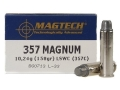 Product detail of Magtech Sport Ammunition 357 Magnum 158 Grain Lead Semi-Wadcutter