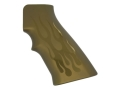 Product detail of Hogue Extreme Series Grip AR-15, LR-308 Flames Aluminum Green