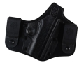 Product detail of DeSantis Intruder Inside the Waistband Holster Right Hand Kahr PM45 Kydex and Leather Black