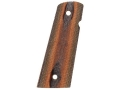 Product detail of Hogue Fancy Hardwood Grips 1911 Government, Commander with Extended Magazine Well Ambidextrous Safety Cut Checkered
