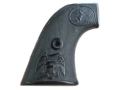 Product detail of Vintage Gun Grips Colt Single Action Army 1st Generation with Eagle Polymer Black