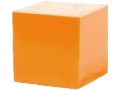 Product detail of Just Shoot Me Products Sniper Cube Reactive Target Ballistic Polymer Orange