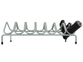 Product detail of Versatile Gun Rack 7 Pistol Gun Rack Vinyl Coated Steel Gray