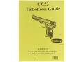 """Thumbnail Image: Product detail of Radocy Takedown Guide """"CZ 52"""""""