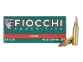 Product detail of Fiocchi Ammunition 4.6x30mm HK 40 Grain Barrier Soft Point Box of 50