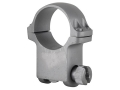 "Product detail of Ruger 1"" Ring Mount 6KHM Silver Matte Extra-High"