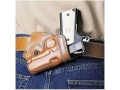 Product detail of Galco Small Of Back Holster Right Hand Springfield EMP Leather Tan