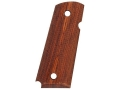 Product detail of Hogue Grips 1911 Officer Checkered Cocobolo