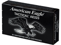 Product detail of Federal American Eagle Ammunition 223 Remington 62 Grain Full Metal Jacket Box of 20