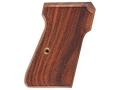 Product detail of Hogue Fancy Hardwood Grips Walther PP, PPK/S Checkered Pau Ferro