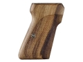 Product detail of Hogue Fancy Hardwood Grips Walther PP, PPK/S Checkered Goncalo Alves