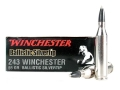 Product detail of Winchester Supreme Ammunition 243 Winchester 55 Grain Ballistic Silvertip