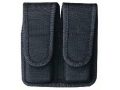 Product detail of Bianchi 7302 Double Magazine Pouch 1911, Ruger P90 Velcro Closure Nylon Black