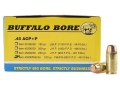 Product detail of Buffalo Bore Ammunition 45 ACP +P 230 Grain Full Metal Jacket