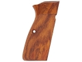 Product detail of Hogue Fancy Hardwood Grips Browning Hi-Power Checkered