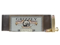 Product detail of Grizzly Ammunition 45-70 Government +P 350 Grain Bonded Core Jacketed Hollow Point Box of 20