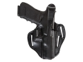 Product detail of Bianchi 77 Piranha Belt Holster Right Hand 1911 Government Leather Black