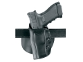 "Product detail of Safariland 568 Custom Fit Belt & Paddle Holster Left Hand Colt Agent, Detective Special, DS-II, SF-VI, Ruger SP101, S&W J-Frame  2"" Barrel Composite Black"