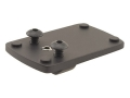 Product detail of JP Enterprises JPoint Electronic Sight Mount 1911 with Standard Rear Sight Aluminum Matte