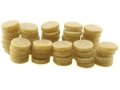 Product detail of Thompson Center Over Powder Bore Buttons 44-45 Caliber Lubricated Pack of 50