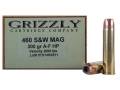 Product detail of Grizzly Ammunition 460 S&W Magnum 300 Grain Swift A-Frame Jacketed Hollow Point Box of 20