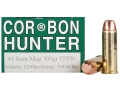 Product detail of Cor-Bon Hunter Ammunition 44 Remington Magnum 300 Grain Penetrator Flat Point Box of 20