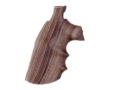 Product detail of Hogue Fancy Hardwood Grips with Finger Grooves Colt Trooper Mark III