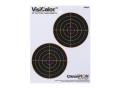 "Product detail of Champion VisiColor 5"" Bullseye Target 8.5"" x 11"" Paper Package of 10"